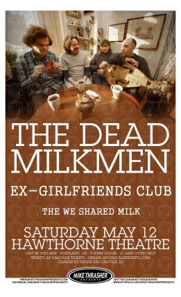 The Ex-Girlfriends Club open for The Dead Milkmen